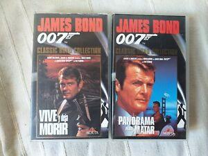 Pack-007-Vive-y-deja-morir-Panorama-para-matar-vhs