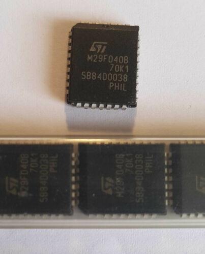 3St. ST M29F040B-70K1 FLASH Speicher 4Mb 512Kx8bit PLCC-32 STM