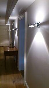 occhio sento verticale chrom mit aufbaudose kopf sento e. Black Bedroom Furniture Sets. Home Design Ideas