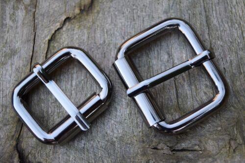 Hebilla de rodillos de metal para adaptarse a 35mm Correa Gunmetal reemplazo Resistente Paquete de 10