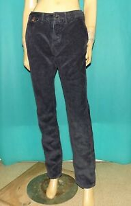 PAUL SMITH pantalon chino velours côtelé en coton bleu taille 33 us ou 42 fr