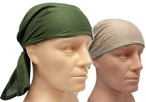 British Army UKSF Rag Sweat Scarf Bandana Jungle Desert Olive Sand Face Mask