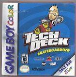 Tech Deck Skateboarding Gbc GAME NEUF