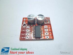 1.5A Mini Dual Channel DC Motor Driver Module Beyond L298N PWM Speed control