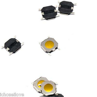 10PCS 4x4x0.8mm Tact Switch SMT SMD Membrane Switch Pushbutton with  Cover