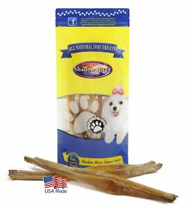 10-Pack-Long-12-14-034-Shadow-River-USA-Beef-Achilles-Tendons-Dog-Puppy-Treats