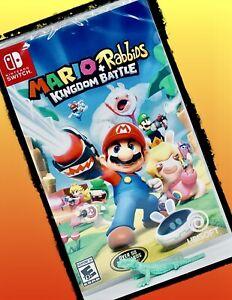 Mario Rabbids Kingdom Battle Nintendo Switch Game & Nintendo Lite New Family