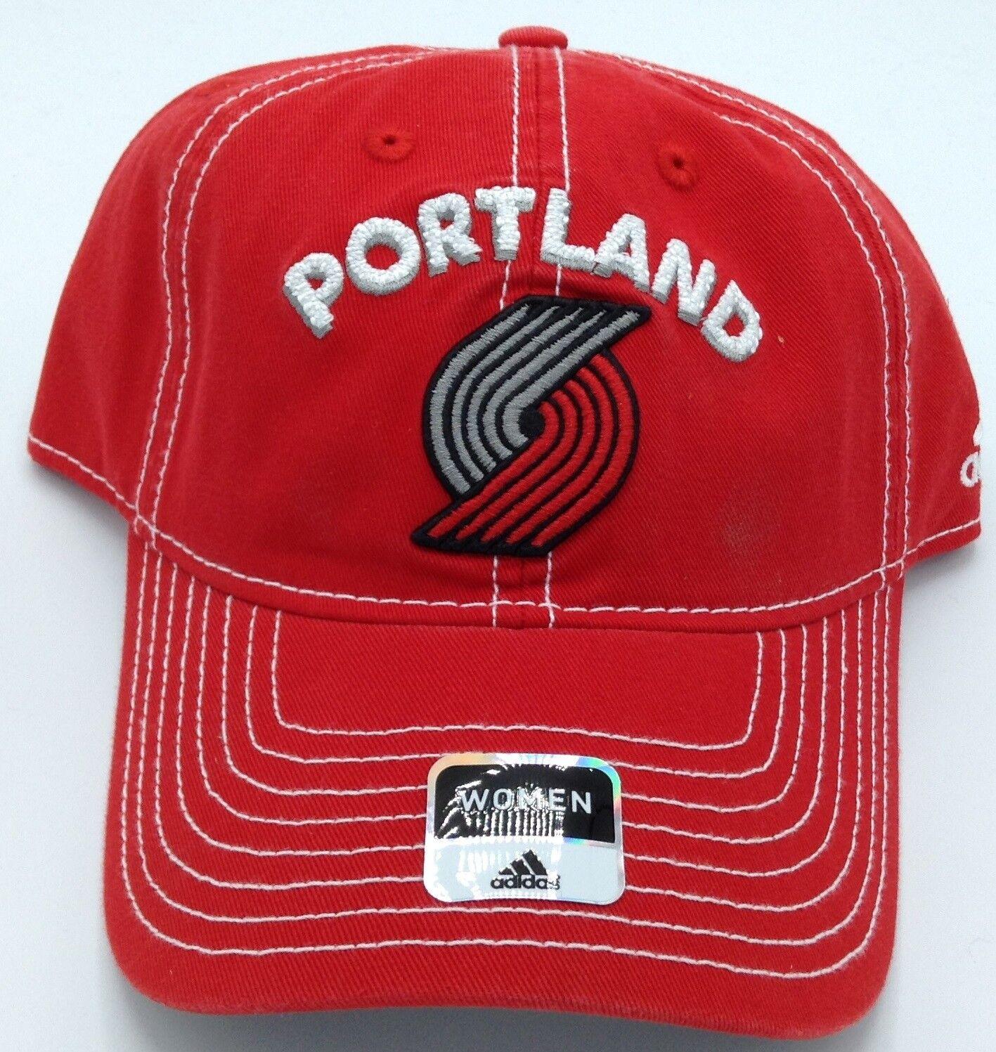NBA Portland Trail Blazers Adidas - Hebilla con parte trasera para mujer Sombrero Estilo Beanie # EX26W