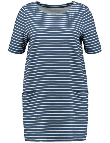 Samoon Sweat-Tunika by Gerry Weber Neu Ringel Design blau-weiß Damen Gr.