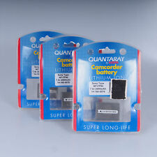 :) Lot of 5 Quantaray NP_FP90 Camcorder Batteries Lithium Ion Battery by Sunpak
