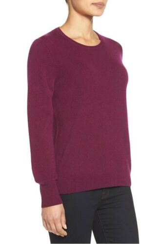 Nordstrom Collection Sweater M 100% Cashmere Crewn