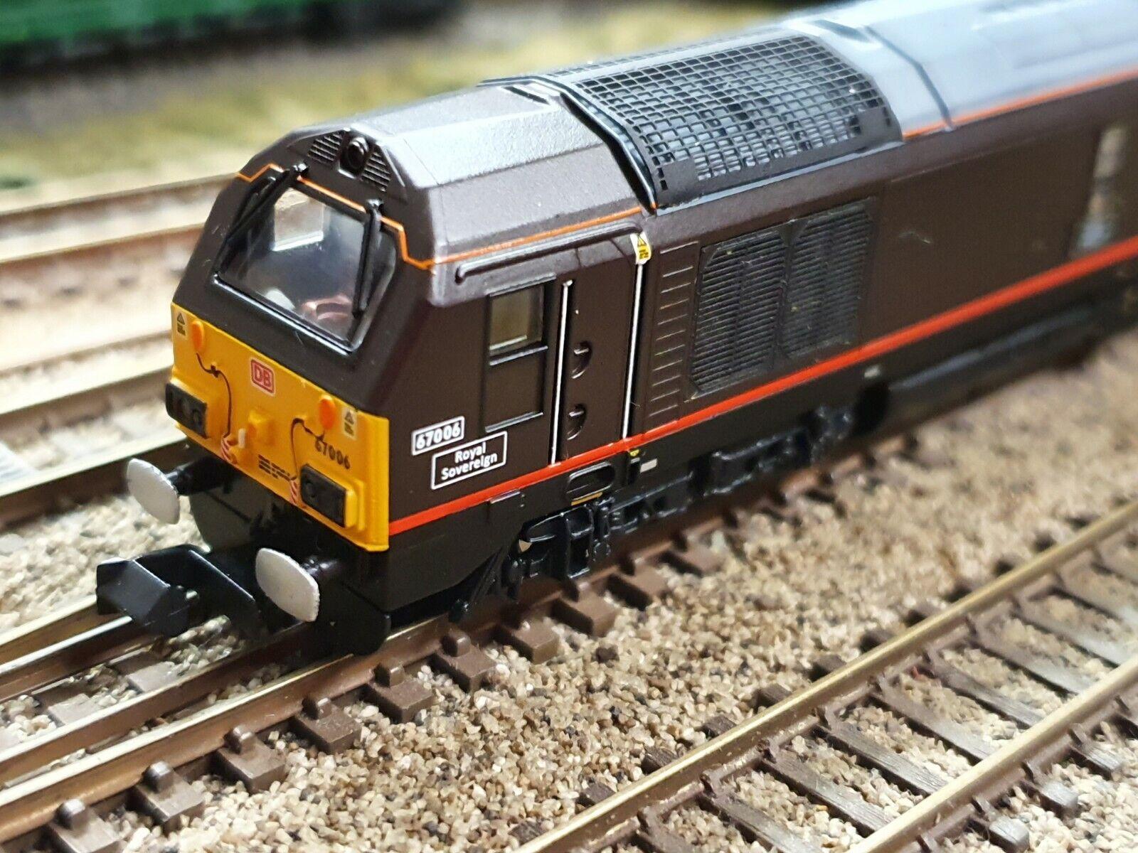 2D010008 DAPOL N GAUGE classe 67 006 DB ROYAL SOVEREIGN LEGOuomo DCC suono