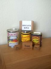 REPRO  WW1 BRITISH RATIONS SET (EDIBLE BUT SOLD FOR DISPLAY)