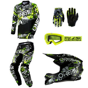 2013 ONEAL ELEMENT MOTOCROSS MX GLOVES ADULT RED bmx mtb