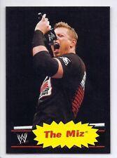 THE MIZ  2012 Topps Heritage BLACK BORDER SP #27 Only 100 Made WWE