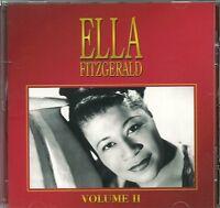 ELLA FITZGERALD VOLUME II CD - LADY BUG, OLD DEVIL MOON & MORE