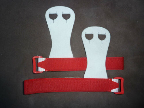 Details about  /New LILAC LIZARD gymnastic HAND GUARDS Palm GRIPS quality soft leather