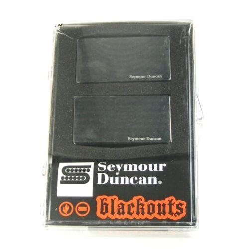 Seymour Duncan AHB-1s Blackouts Active Humbucker Pickup Set Black 1611106-32B