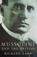 Mussolini And The British By Richard Lamb (1998, Hardcover)