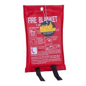 1 x 1 m Glass Fiber Fire Blanket
