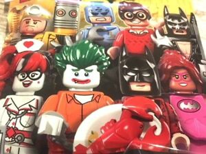 YOU PICK SEALED **** LEGO 71017 ****LEGO BATMAN MOVIE SERIES 1 MINIFIGURES