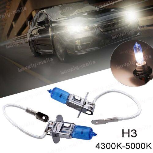 Premium H3 Fog Light 100W 4300K OEM white Xenon Halogen Light Headlight Bulbs