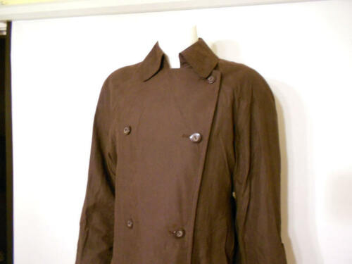 Fog 2 med Zip Ny Trenchcoat Double Body Size 189 London Petite Breasted Out PPqAEy