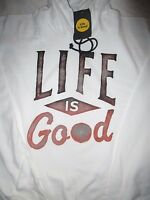 LIFE IS GOOD Go To Hoodie Hoody Sweatshirt LIG NEW NWT Mens Size  Sz XXL 2XL