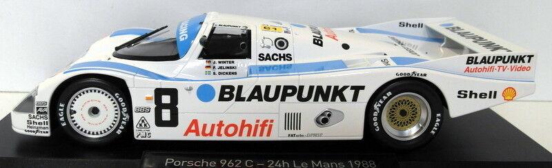 Norev 1 18 Scale diecast - 187410 Porsche 962C 3rd Le Mans 1988 blupunkt