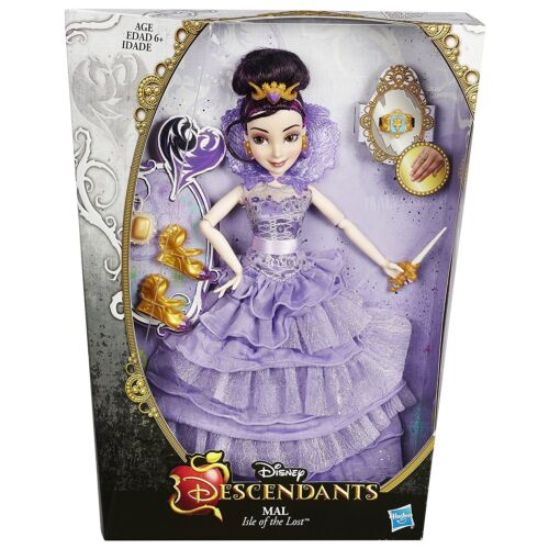 Girls Doll Toy Disney Descendants Mal Isle of the Lost Fashionable Figure Gift