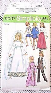... -UNC1970-BARBIE-amp-MADDIE-MOD-DOLL-CLOTHES-WEDDING-amp-EVENING-DRESS