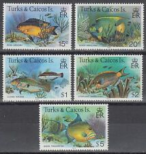 Turks & Caicos 1983 ** Mi.405/19 III Fische Fish [sq5852]