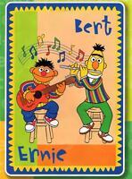 Plaza Sesamo Sesame Street Ernie And Bert Acrylic Twin Blanket 60 X 87
