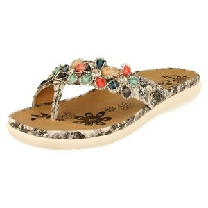 Sandales pour boutonnière femmes à V9591 Gris Rieker 1rp8RxAW1