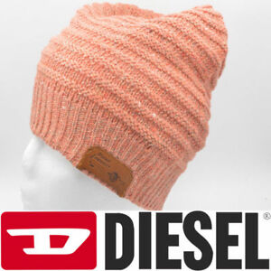 193c6bb5510 Image is loading DIESEL-K-Malti-Beretto-00SA4Q-Womens-Knitted-Beanie-