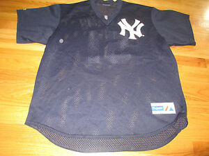 promo code 8cf4f acda1 Details about Vintage Majestic BERNIE WILLIAMS No. 51 NEW YORK YANKEES (XL)  Jersey