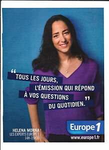 EUROPE-1-HELENA-MORNA-Publicite-de-Magazine-Magazine-advertisement-2012