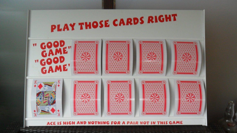 Jouer vos cartes droit supérieur inférieur plateau de jeu avec extra large A4 cartes à jouer