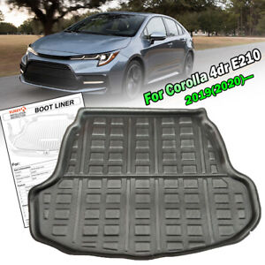 For Toyota Corolla E210 Sedan 2020 Cargo Liner Boot Trunk Floor Mat Tray Black Ebay
