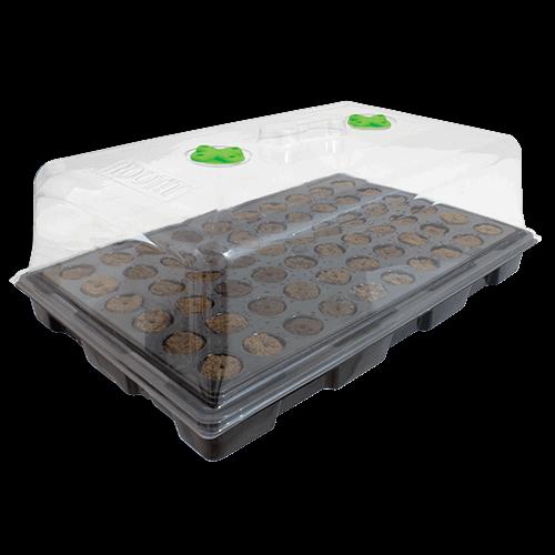 Hydrogarden ROOT!T 57 x 35.5 x 5.5cm Propagator Tray Box of 18