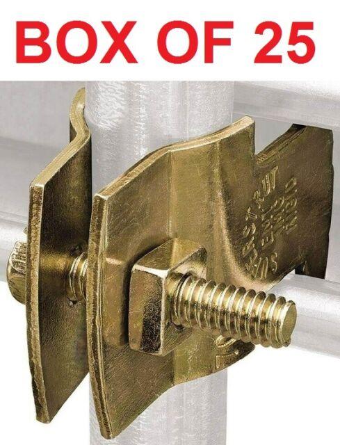Thomas /& Betts Z703 2-25 Super Strut 2-Inch Universal Pipe Clamp