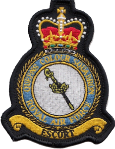 MOD Embroidered Patch Queen/'s Colour Squadron RAF No. 63 Squadron RAF Regiment