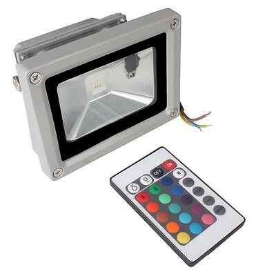 Outdoor IP65 Waterproof RGB Colour Changing LED Floodlight 10W 20W 30W 50W