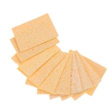 New Listing10pcs Soldering Iron Tip Welding Cleaning Cleaner Sponge 3550mm Hiru