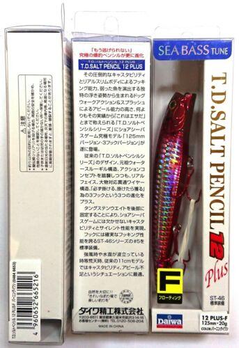 SALT PENCIL 12 PLUS fishing lure DAIWA T.D 6653 F // BURNING IWASHI