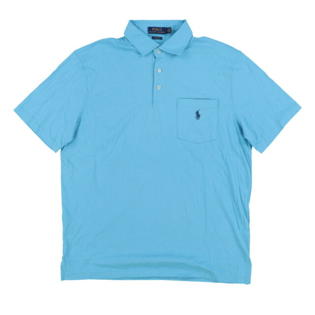 b39dd03cc9ba Polo Ralph Lauren Shirt Polo/rugby Pocket Blue Men's Size 2xl ...