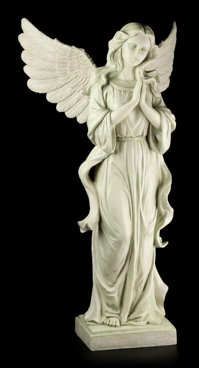 Figura de Jardín - Ángel - Rezando - para Decoración Tumba Cementerio