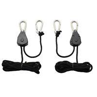 Garden Smart Rope Ratchet Heavy Duty Reflector Hanger - 150lbs Max - Choose Qty