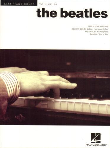 Jazz Piano Solos Volume 28 The Beatles Jazz Songbook Noten für Klavier solo