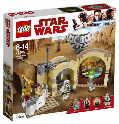 LEGO Star Wars 75205 - Mos Eisley Cantina - New & Sealed (Retired Set) Greedo